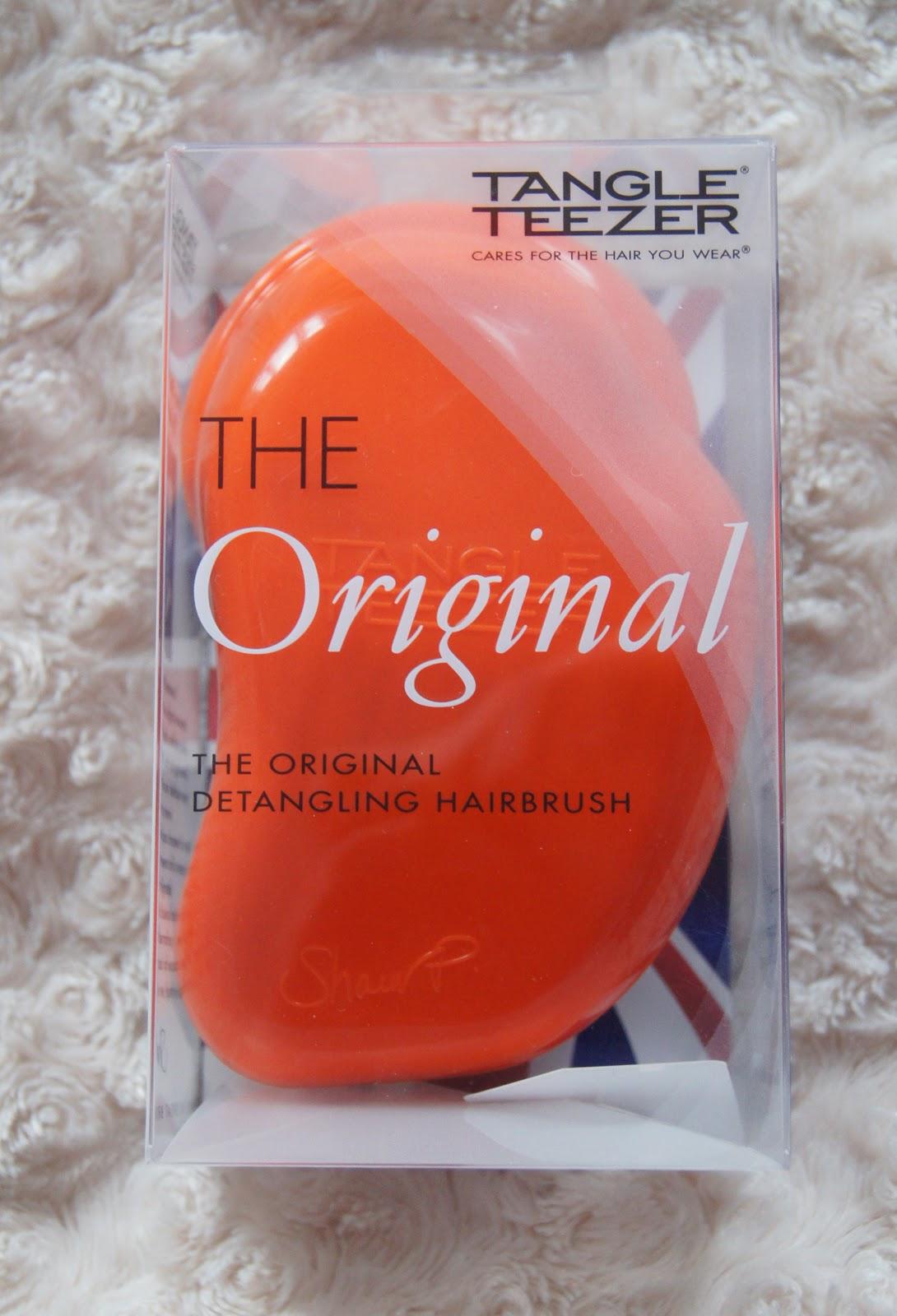 tangle teezer original detangling hairbrush review
