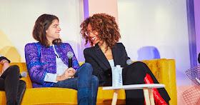 Women talking at Girlboss Foundation event