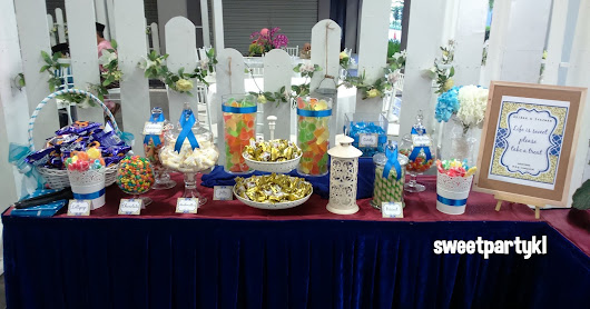 candy buffet for wedding at Subang Jaya