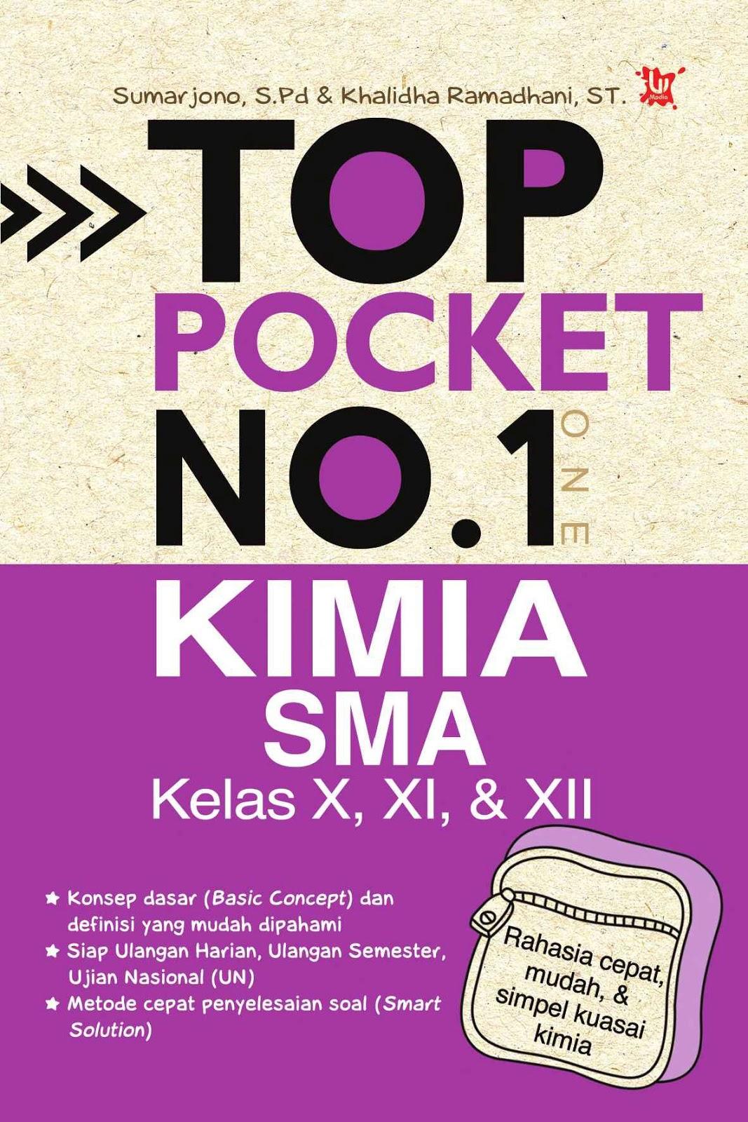 Top Pocket No.1 Kimia SMA Kelas X, XI dan XII