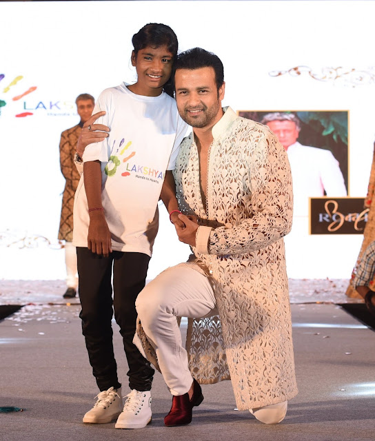 rohit roy with lakshyam kid