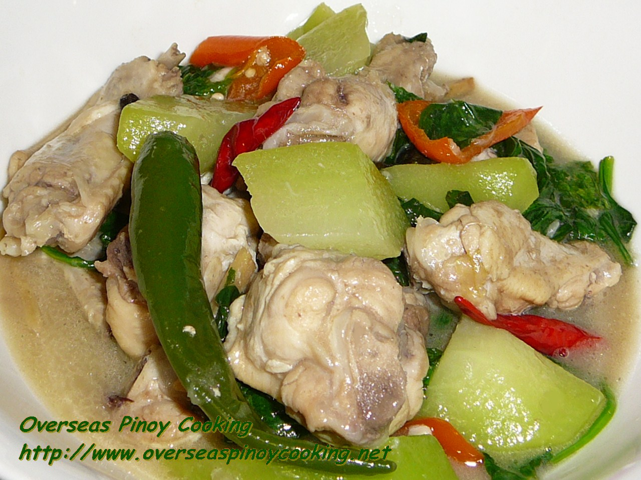 Ginataang Manok Na Tinola Overseas Pinoy Cooking