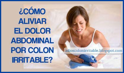 ¿Cómo aliviar el Dolor Abdominal provocado por Colon Irritable?
