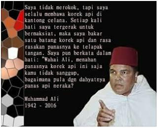 Kumpulan Kutipan Kata-kata Bijak Terbaik Muhammad Ali, The Greatest Boxer