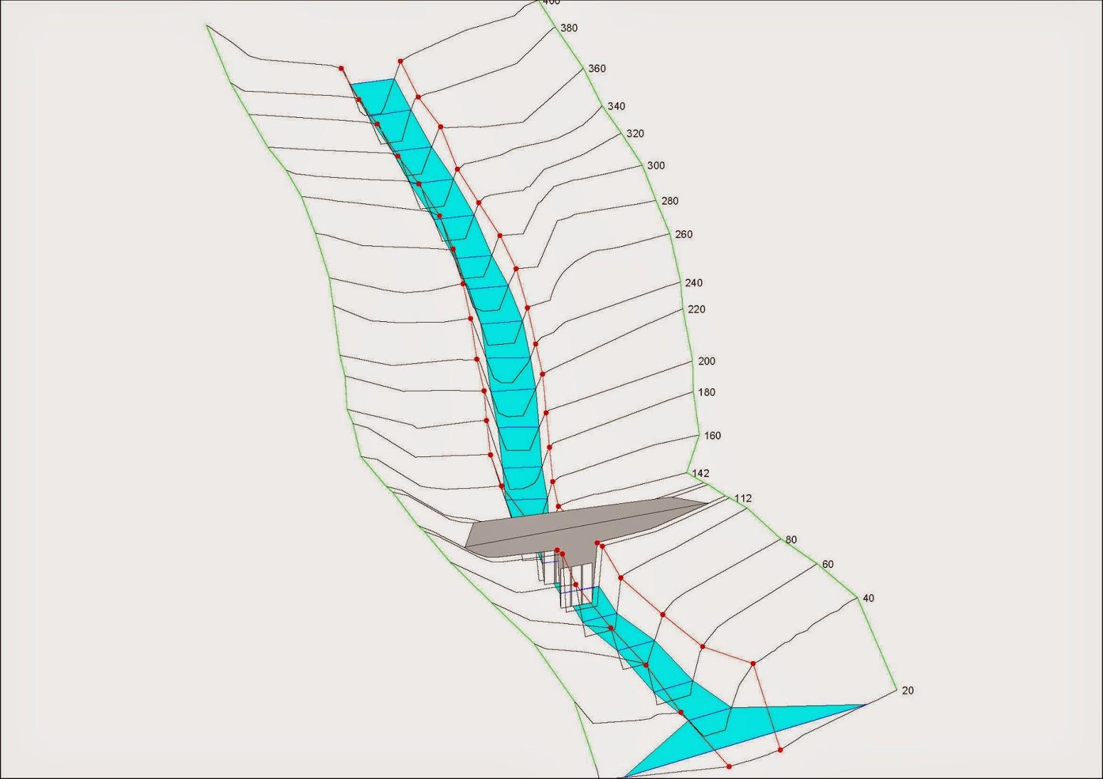 Simulación Realizada Con Hec Ras La Capaza De Un Ingeniero