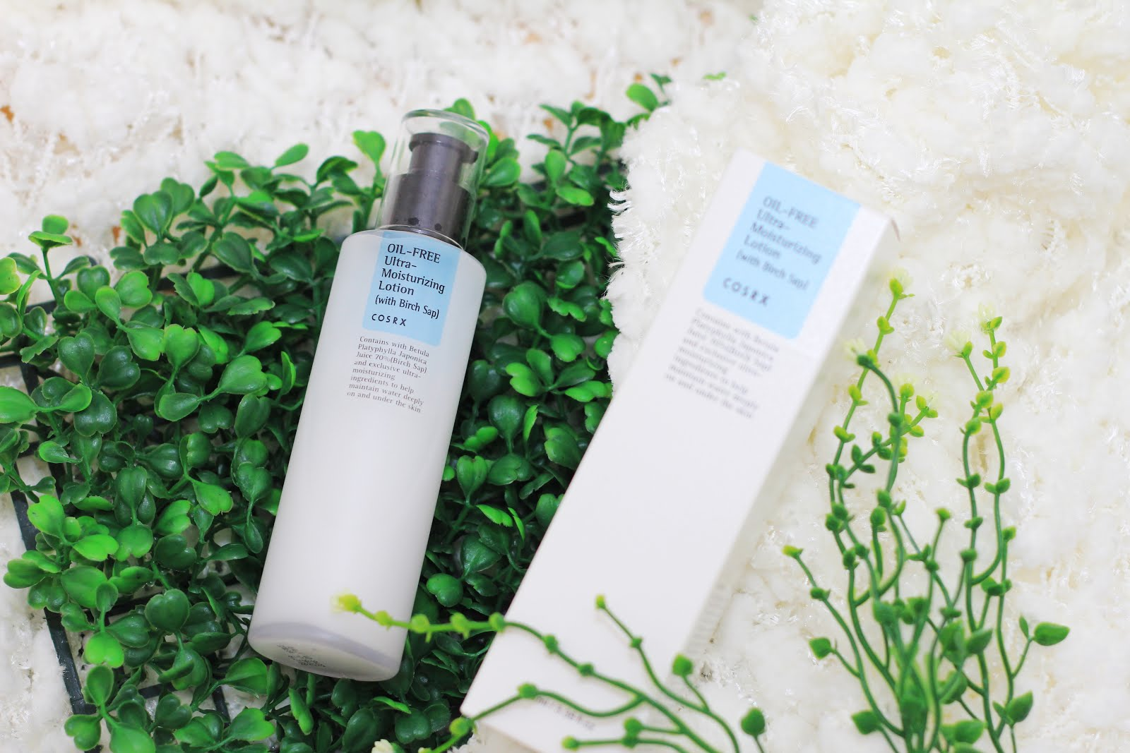 Cosrx Oil-Free Ultra-Moisturizing Lotion Review - Cindy's Planet