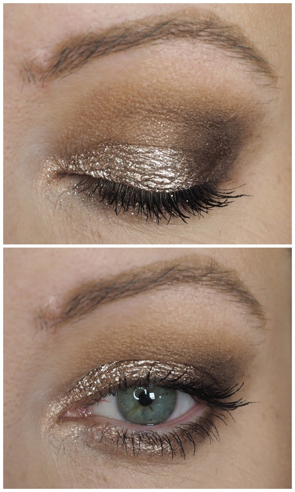 how to put on liquid eyeshadow