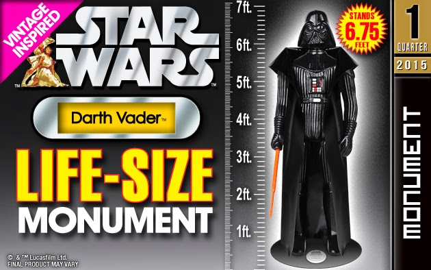 low priced f290a 7a601 Darth Vader Star Wars Life Size Vintage Kenner 6.75 Foot Statue by Gentle  Giant