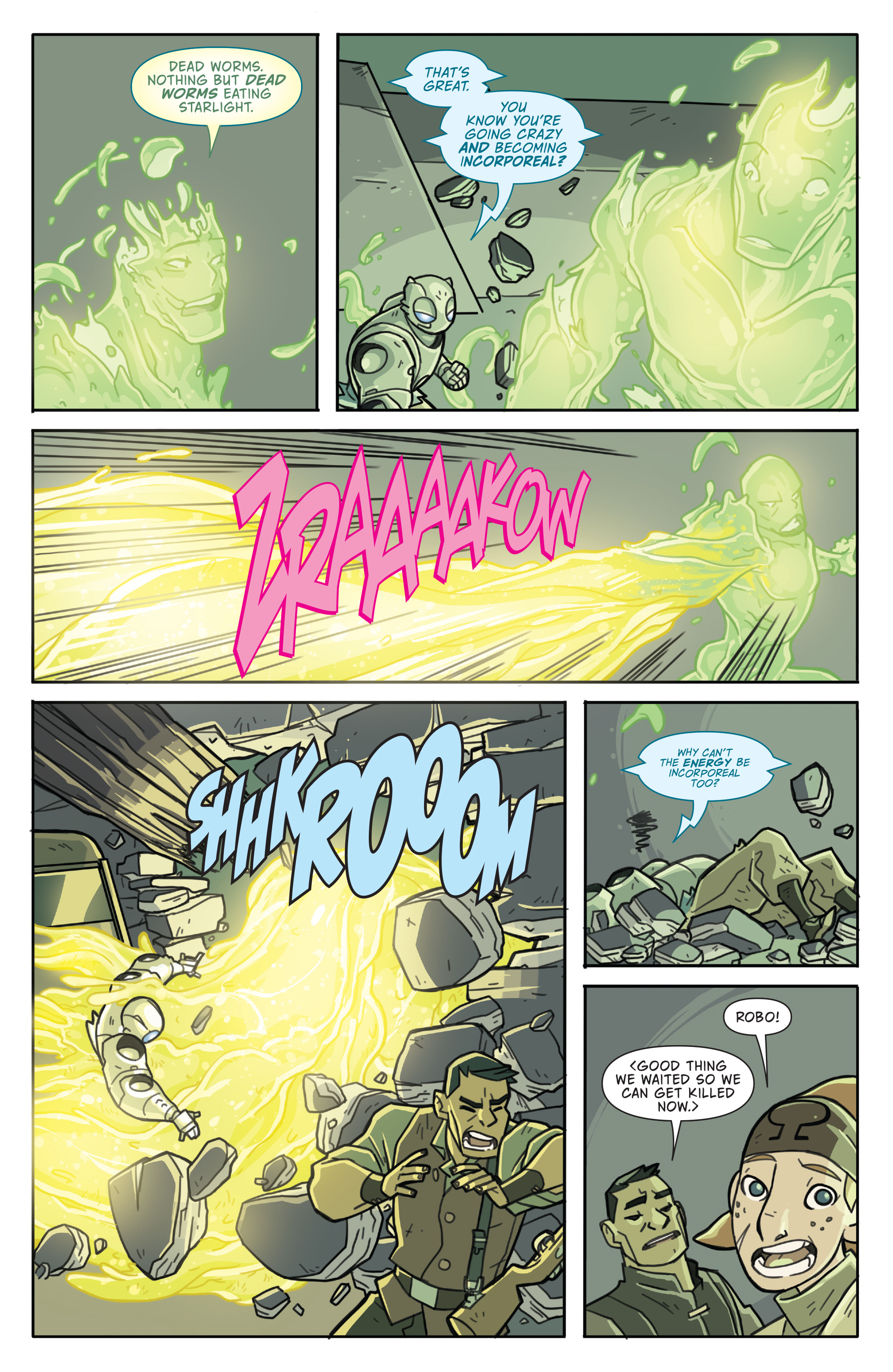 Read online Atomic Robo and the Temple of Od comic -  Issue #5 - 15