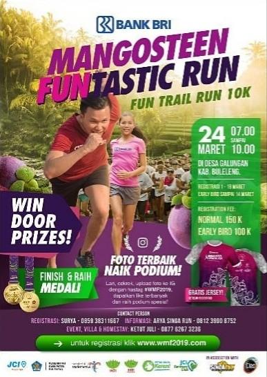 Mangosteen Funtastic Run • 2019