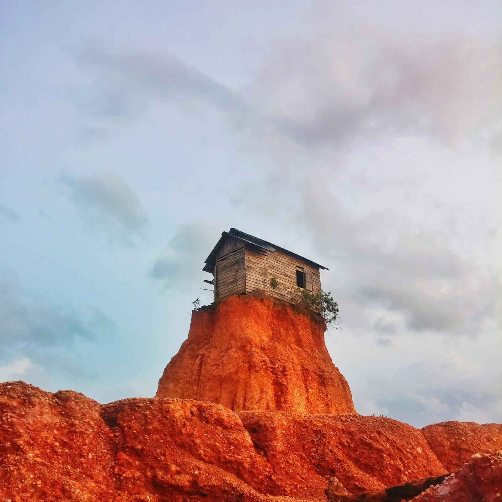 lokasi gunung kupang cempaka banjarbaru