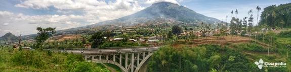Keindahan Jembatan Sigandul Temanggung