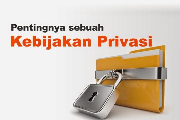 Kebijakan Privasi Laman  Memberitahukan Pengunjung  Tata  Mengelola Web Blog