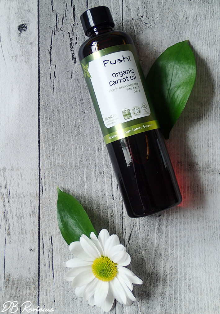Beauty Oils from Fushi - Review and Giveaway