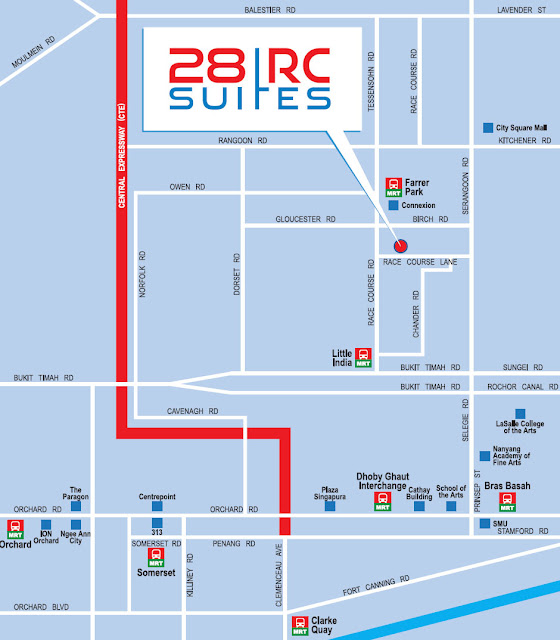 28 RC Suites Location