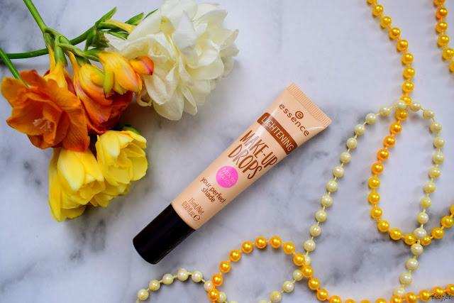 Kropelki rozjaśniające podkład Makeup Drops Essence