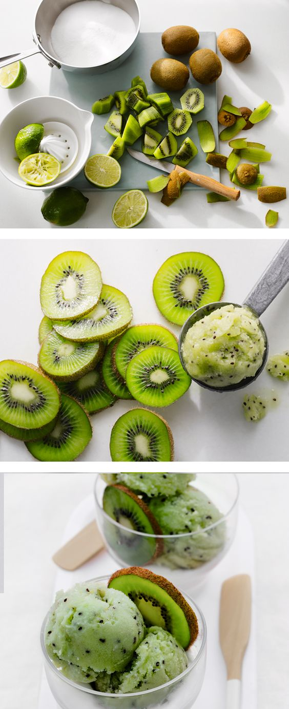 Kiwi Sorbet