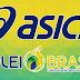 Asics é a nova patrocinadora da Seleção Brasileira de Vôlei