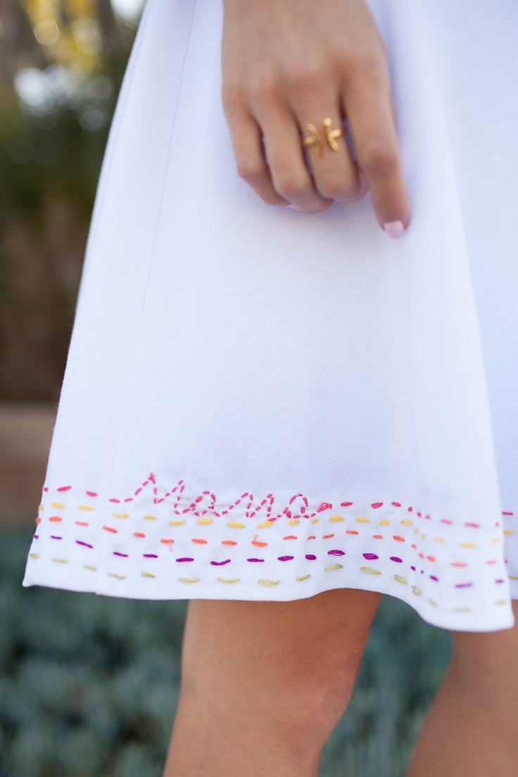 Diy embroidery ideas for clothes and shoes my favorite