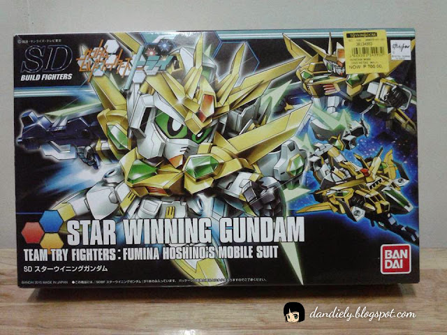 SD Star Winning Gundam -  Straight Build box