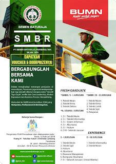 Info Lowongan BUMN di PT. Semen Baturaja (Persero) Tbk Februari 2018 Terbaru