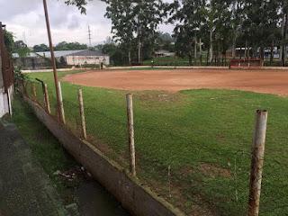 O campo do Taipas F.C. Foto: acervo Taipas F.C.
