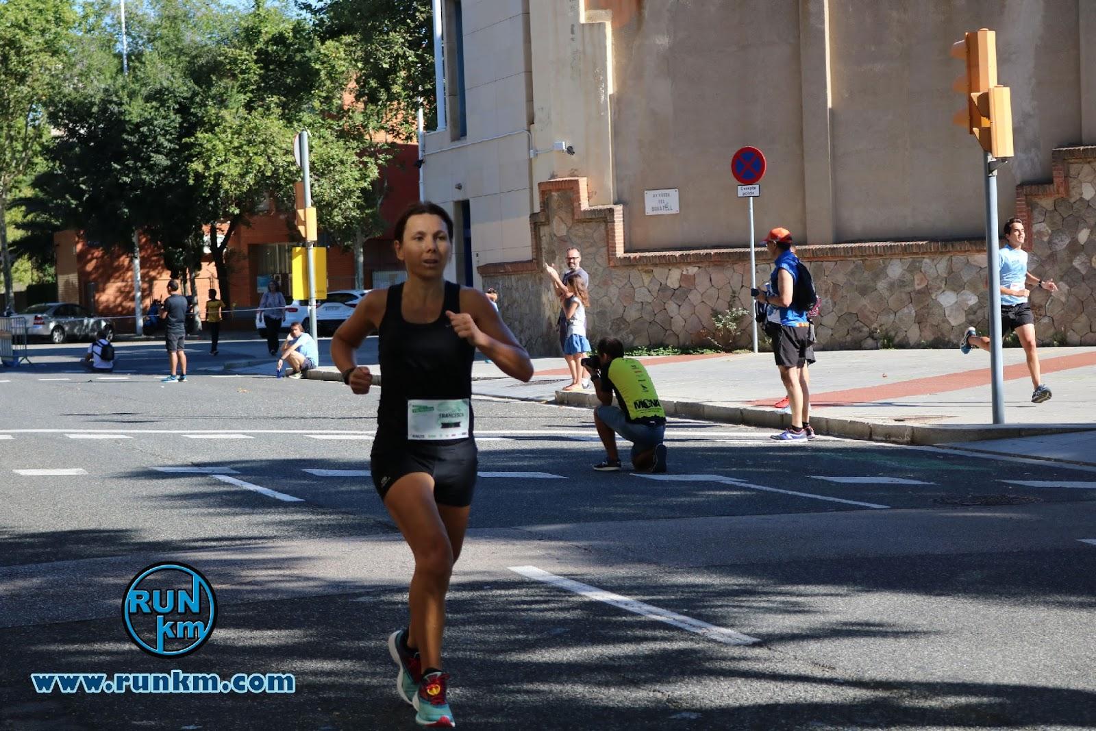 Francesca Sist vencedora de la Cursa Vila Olímpica 2017 - 10K