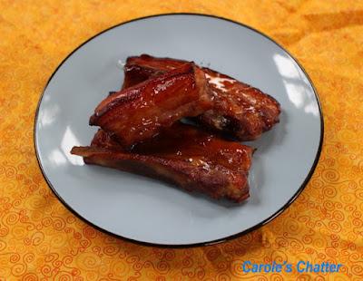 Carole's Chatter: Char Siu Pork with Plum Sauce glaze