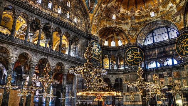 Museu da Basílica Santa Sofia em Istambul