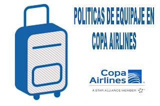 Actualización de políticas de equipaje en Copa Airlines