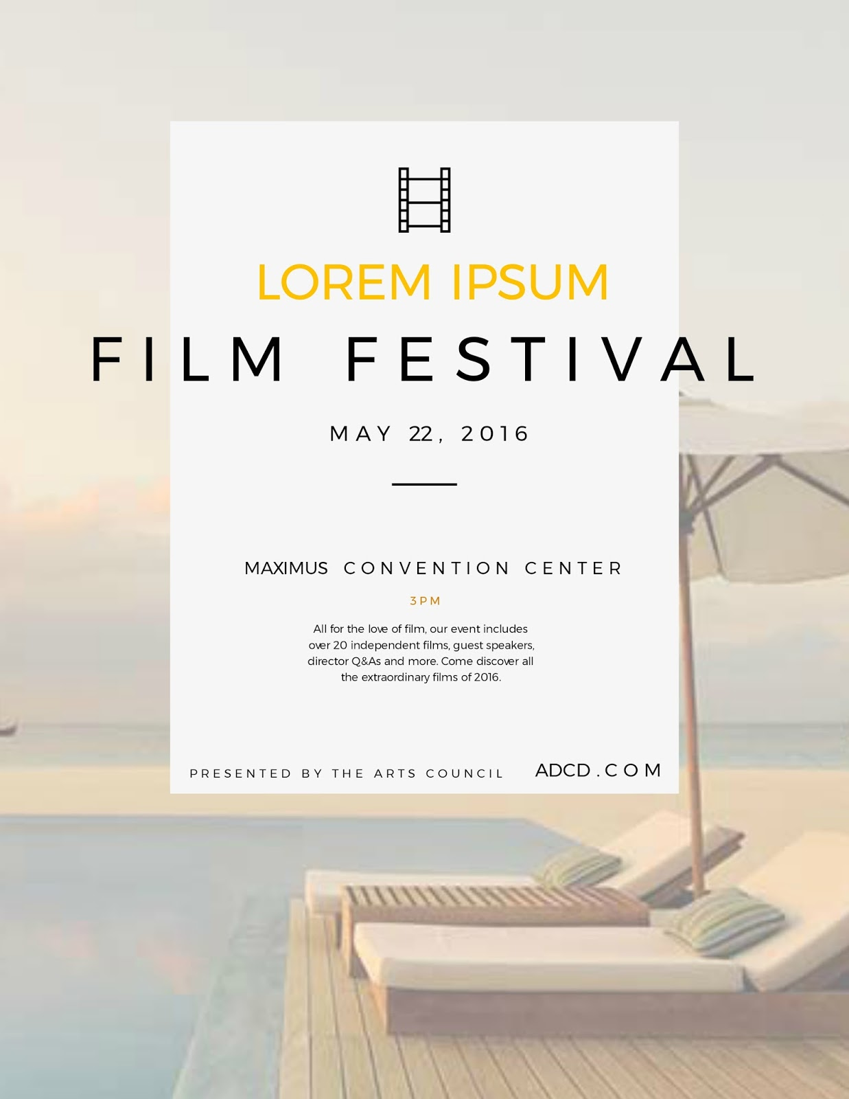 Film Festival Poster Ideas
