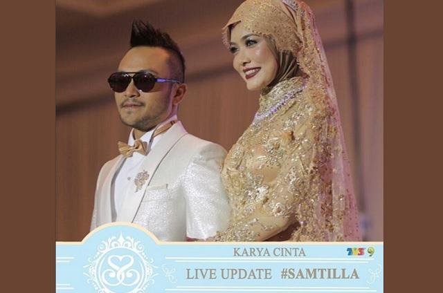 Resepsi Shaheizy Sam & Syatilla Melvin