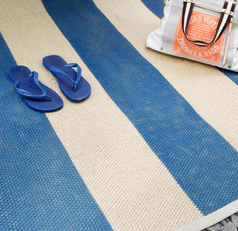 How to Paint Sisal Rug