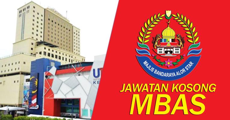 Jawatan Kosong di Majlis Bandaraya Alor Setar MBAS