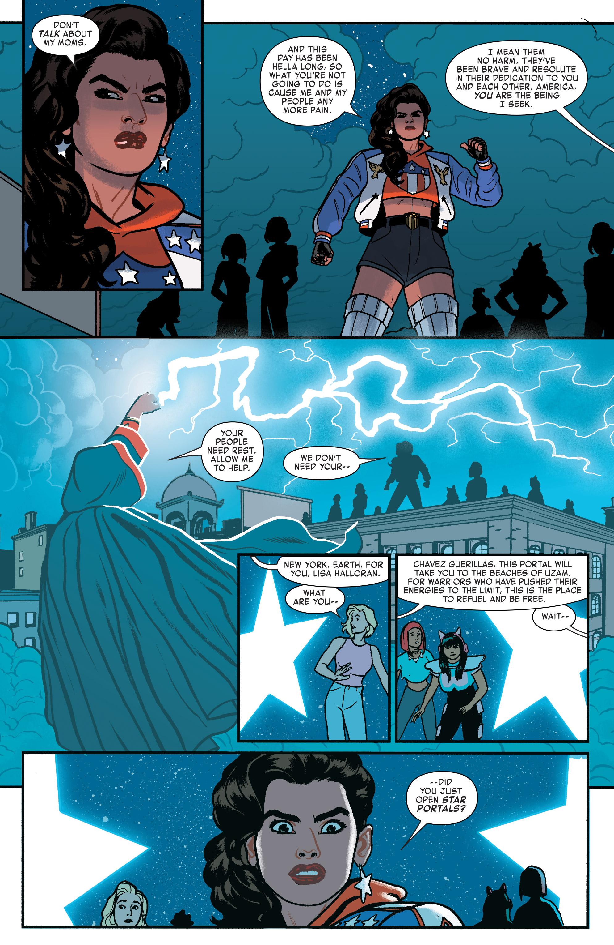 Read online America (2016) comic -  Issue #4 - 17