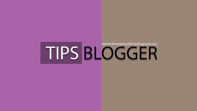 """TUTORIAL : Cara """" QUOTE """" Ayat dalam entri blog !"""