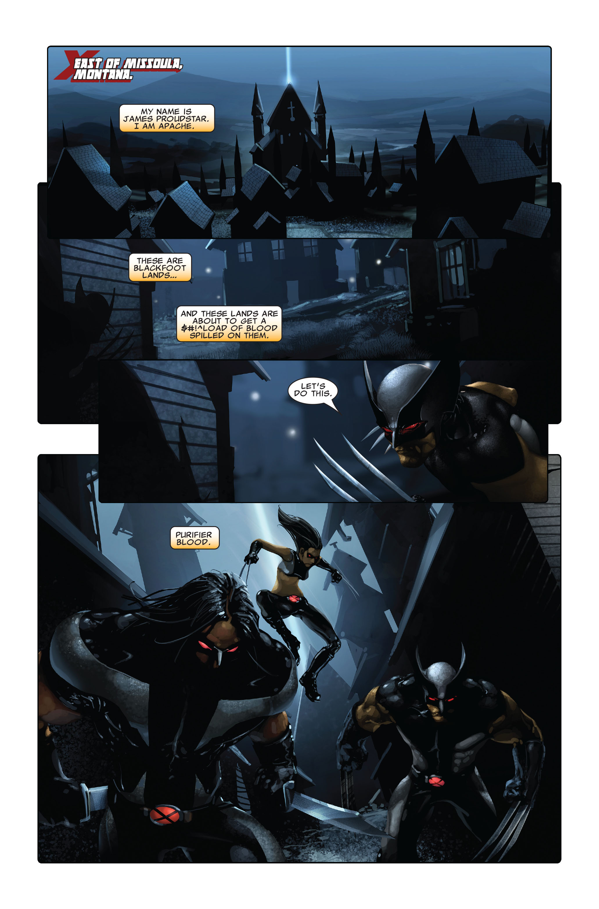 Read online X-Force (2008) comic -  Issue #3 - 8