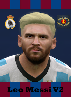 Leo Messi V2 By The WHite Demon Collab Sameh Momen