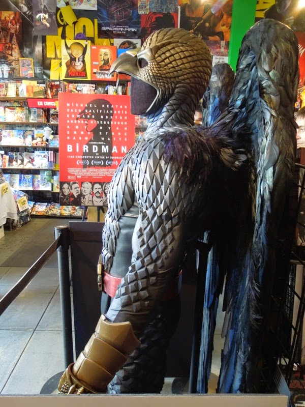 Birdman film costume detail