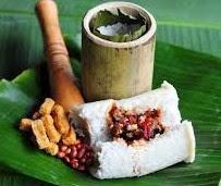 Foto Nasi Bakar Bambu Enak