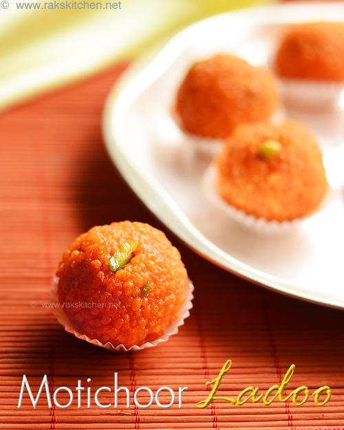Motichoor ladoo recipe how to make perfect motichoor ladoo raks motichoor ladoo diwali forumfinder