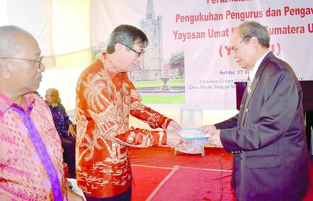 Yasonna Laoly Teruskan Pembangunan Christian Center