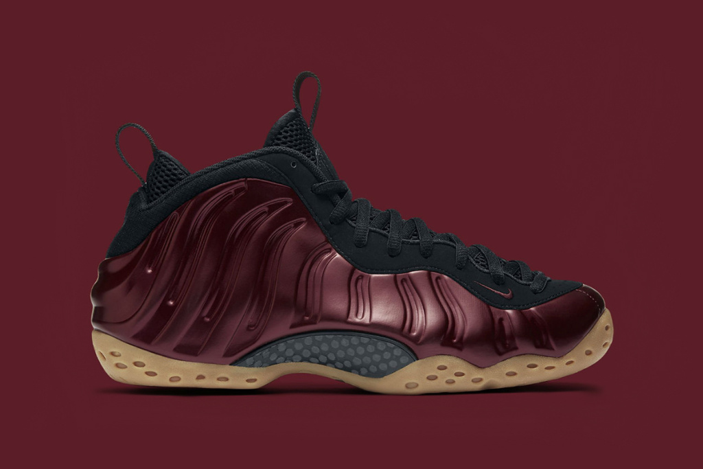 """c4f84ead41dc Nike is set to release the """"Night Maroon"""" colorway for the popular  Foamposite One silhouette. Also dubbed """"Candy Apple"""
