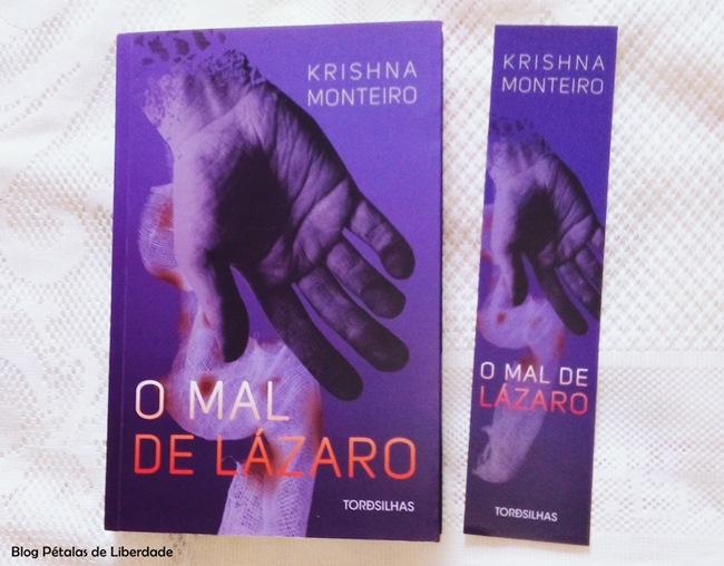 livro, O-mal-de-Lázaro, Krishna-Monteiro, Tordesilhas, capa,