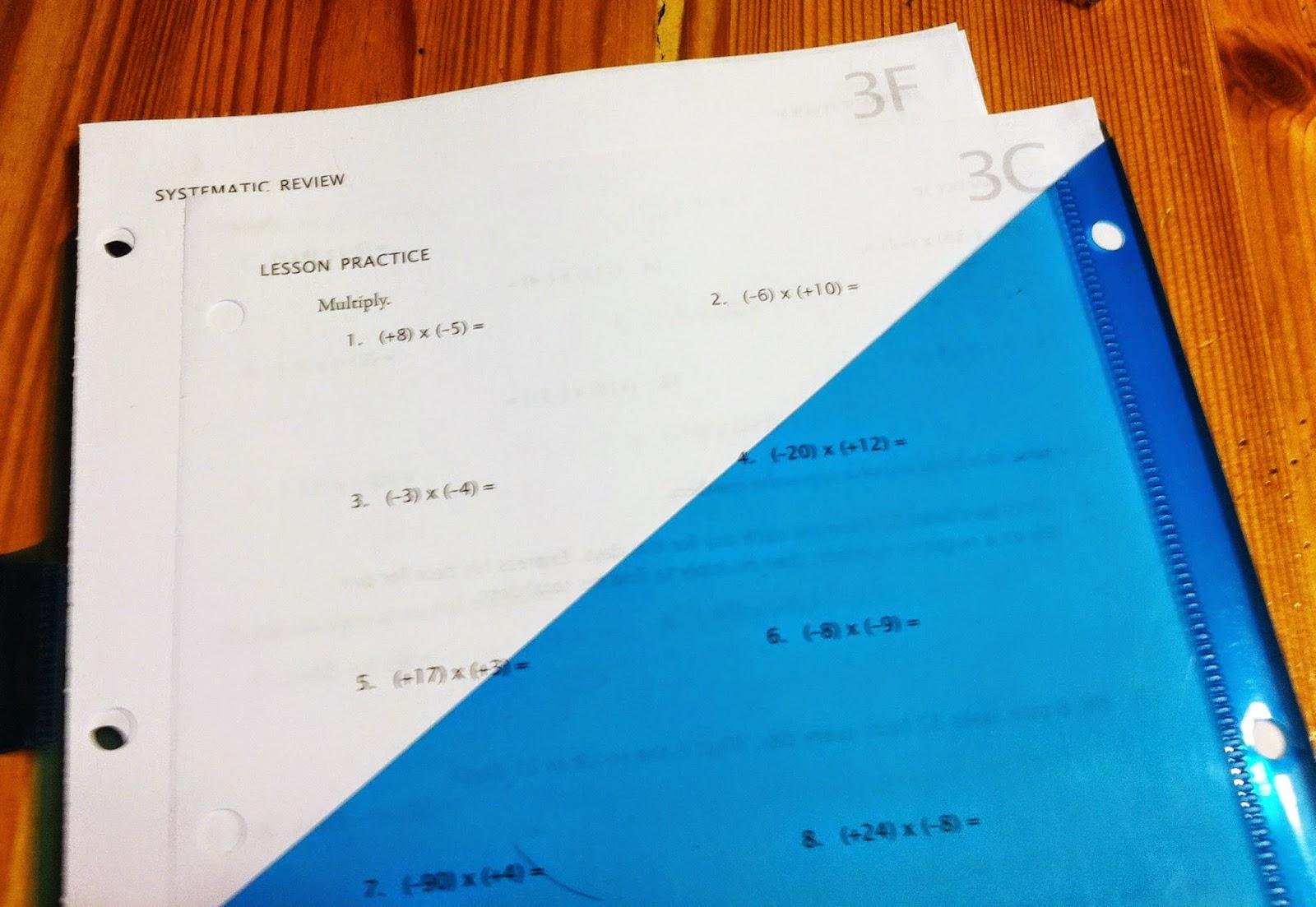 My Father S Sheep Math U See Folders For Workbox