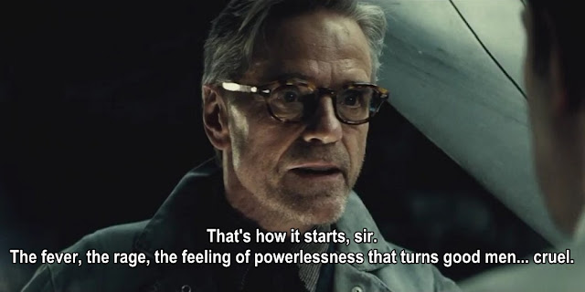 alfred quotes, batman v superman: dawn of justice