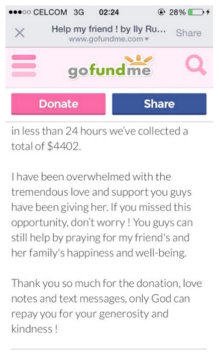 Ibu meninggal dunia, lihat bagaimana pelajar di USA yang kesempitan wang untuk pulang ini cari bantuan