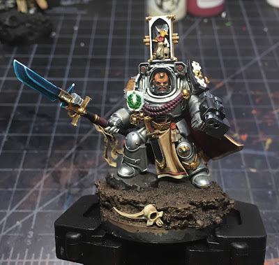Grey Knights Brother Captain WIP front