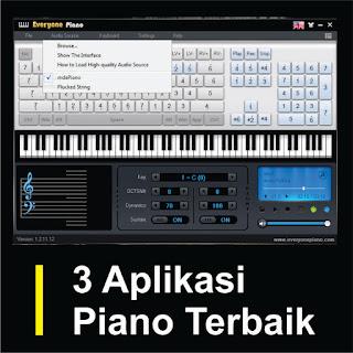 3 Aplikasi Piano Terbaik Untuk PC dan Laptop