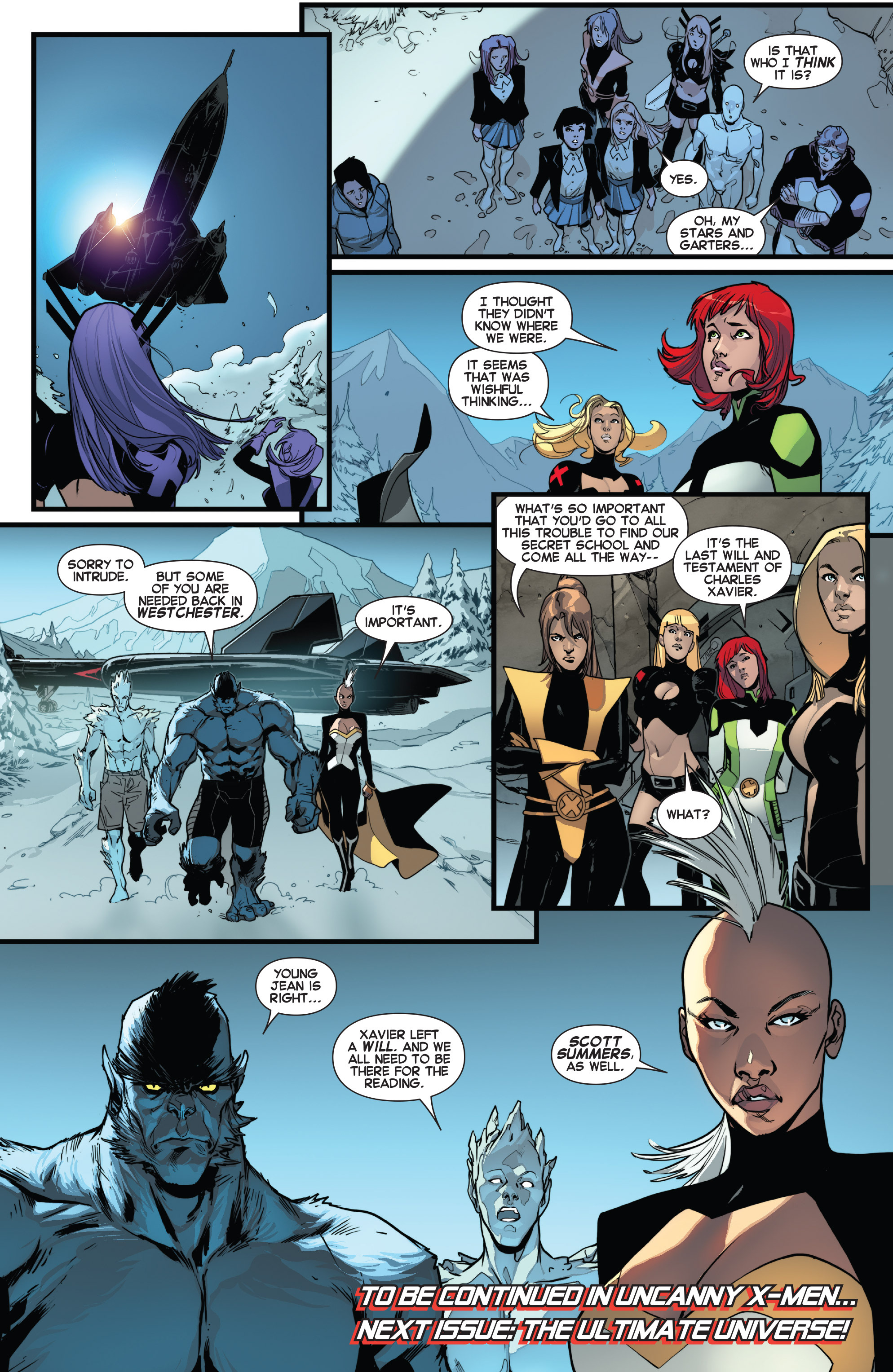 Read online All-New X-Men (2013) comic -  Issue # _Special - One Down - 121